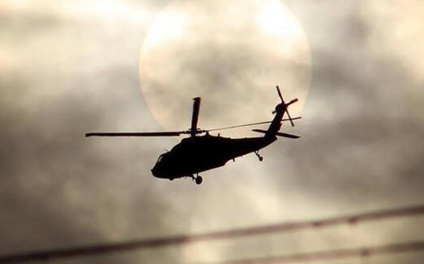 Əfqanıstanda hərbi helikopter qəzaya uğrayıb, 7 nəfər ölüb