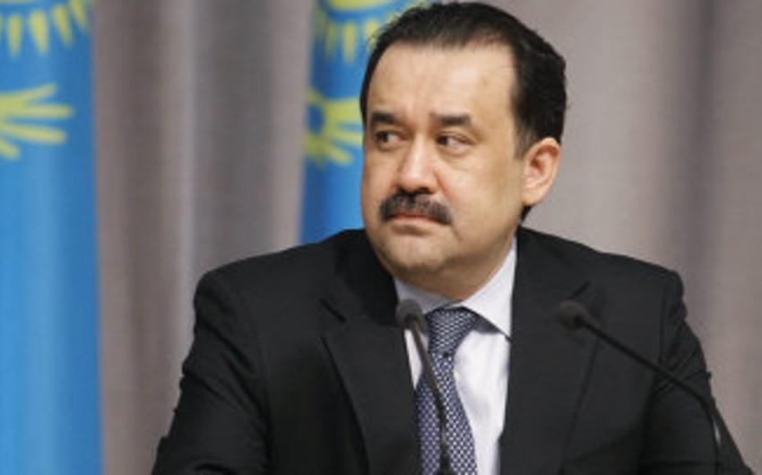 Kərim Masimov yenidən Qazaxıstanın baş naziri təyin edilib
