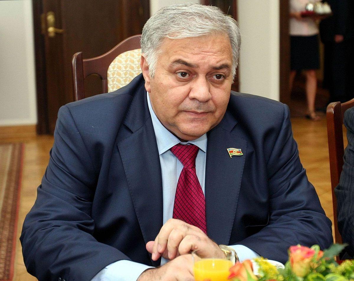 Oqtay Əsədov Sankt-Peterburq Qanunverici Məclisinin sədri ilə görüşüb