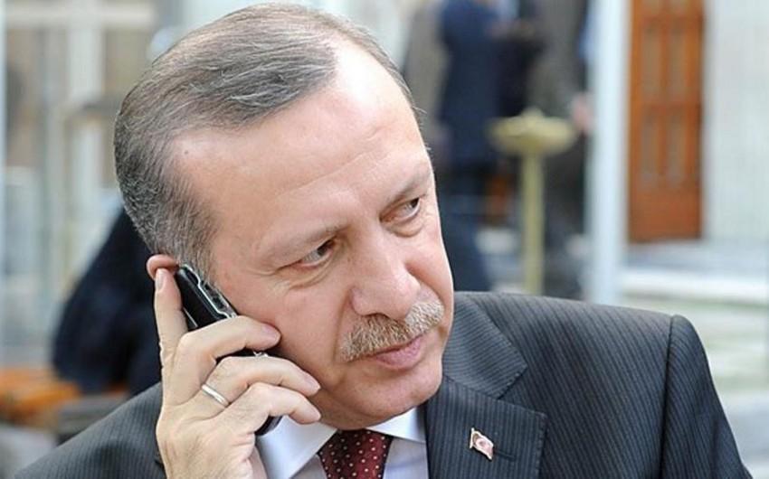 Ərdoğanın bir sıra dövlət başçıları ilə telefon danışığı olub