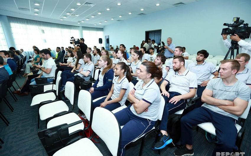Minsk 2019a yollanacaq idmançılarla MOK-da görüş keçirilib