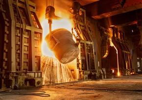 Dünyada polad istehsalı 14% artıb