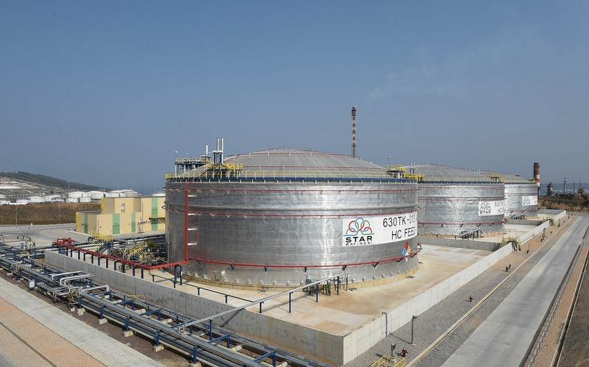 Mayda STAR neft emalı zavodu xam neft idxalını 14 % azaldıb