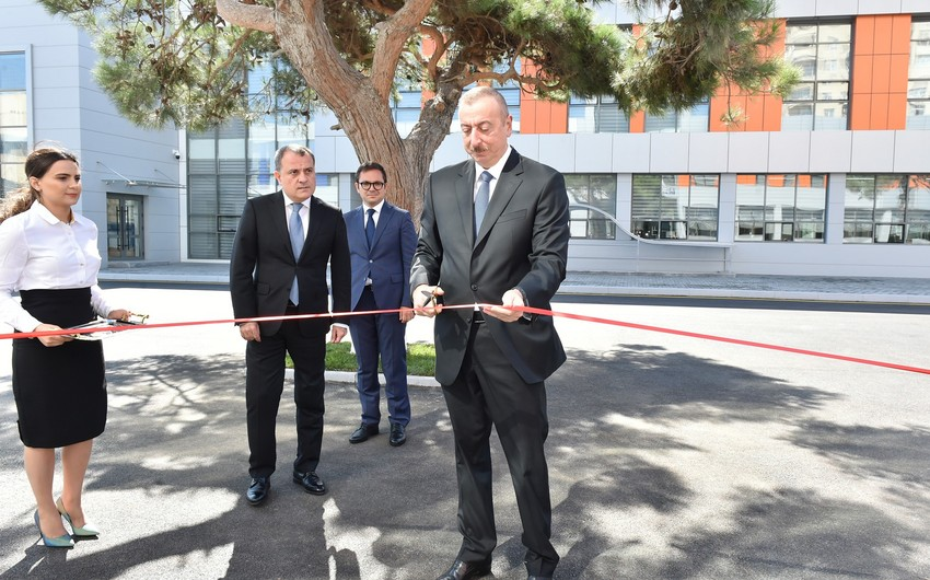 President Ilham Aliyev inaugurates Baku State Vocational Education Centre on Industry and Innovation