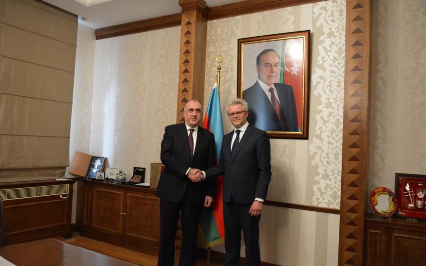 Elmar Məmmədyarov Beynəlxalq Enerji Xartiyasının baş katibi ilə görüşüb