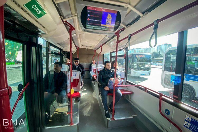 BNA: Граждан могут пускать в автобусы по специальному разрешению