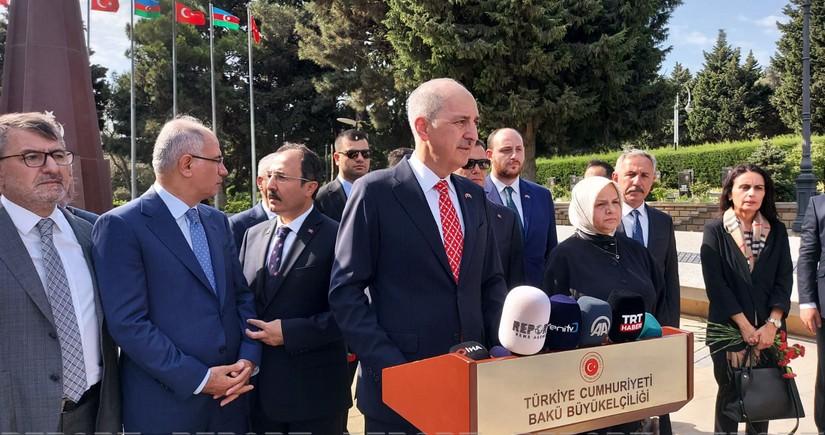 Numan Kurtulmuş: Tunisdə baş verən çevriliş qəbuledilməzdir