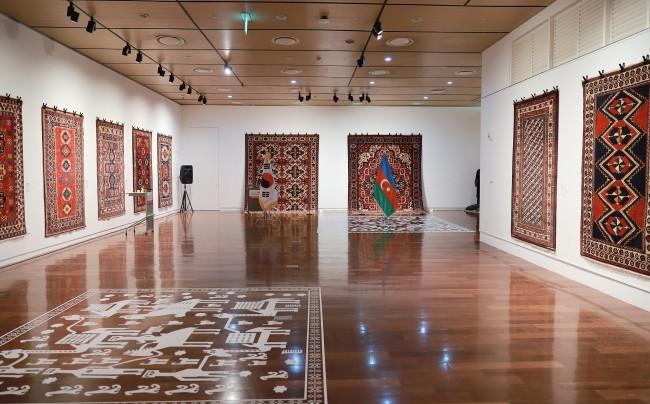Azerbaijani embassy organizes exhibition of carpets in Seoul