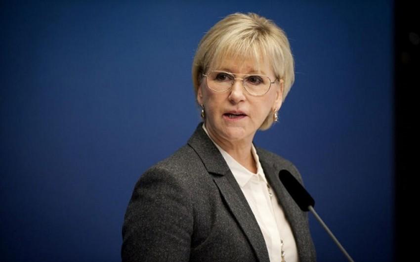 Глава МИД Швеции: Азербайджан показывает всему миру пример