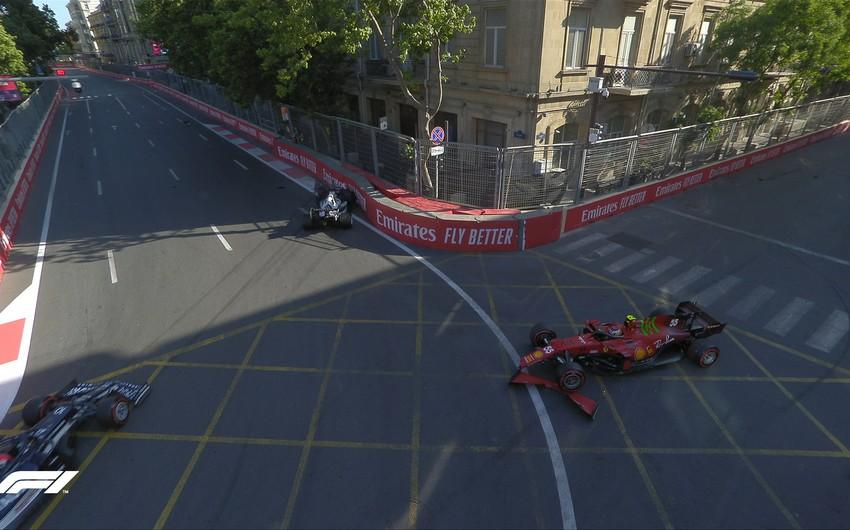Formula 1: Yarışın sonlarında iki qəza baş verdi - YENİLƏNİB-2