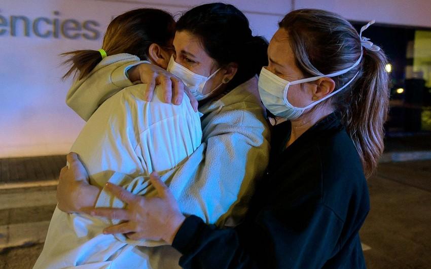 İspaniyada koronavirusa yoluxanların sayı 243,2 mini ötdü
