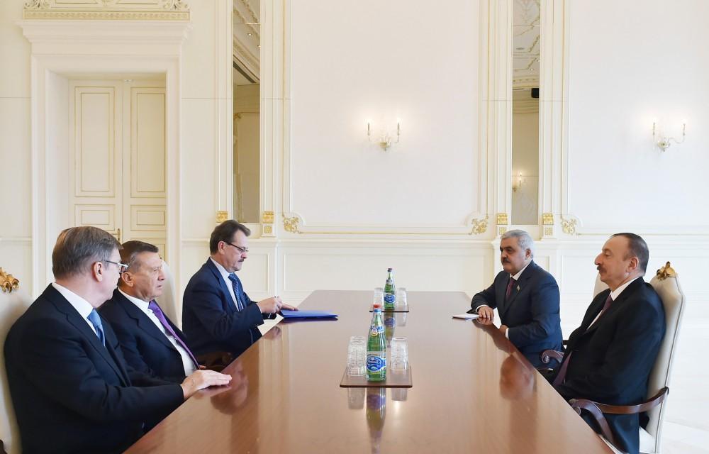 Azərbaycan Prezidenti Qazpromun Direktorlar Şurasının sədrini qəbul edib