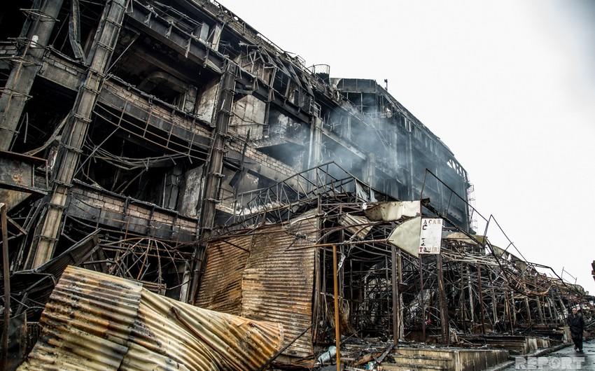 Создана комиссия в связи с пожаром в ТЦ Диглас - СПИСОК