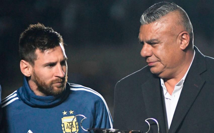 Argentina Futbol Federasiyasının prezidenti FIFA Şurasından qovulub