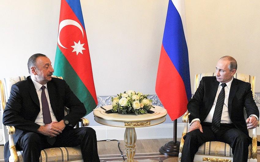 Azərbaycan Prezidenti Vladimir Putinə başsağlığı verib