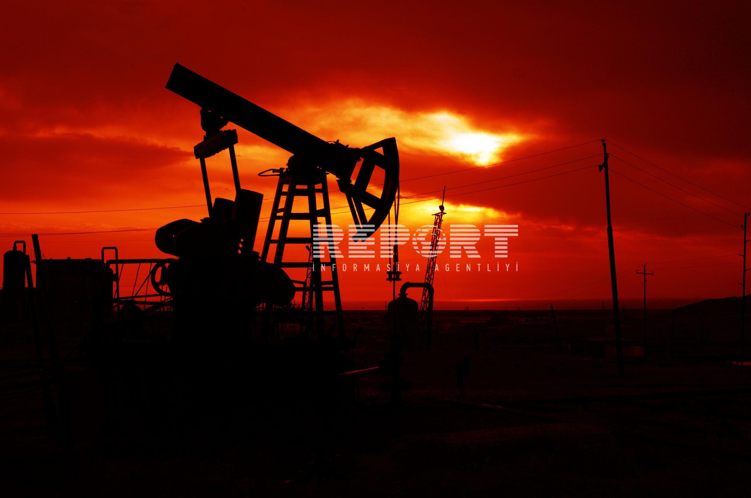 Dünya bazarında neftin qiyməti azalıb