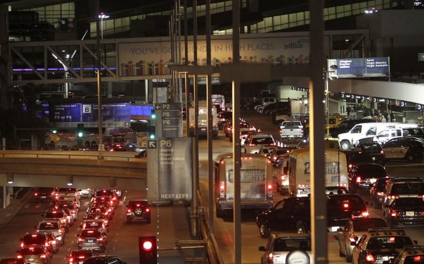 Los-Anceles hava limanında atışma ilə bağlı məlumat doğru çıxmayıb - YENİLƏNİB - VİDEO