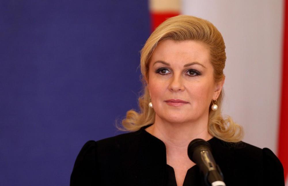Croatian president visits Azerbaijan Carpet Museum