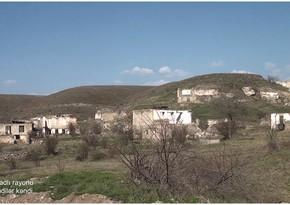 Qubadlının Əfəndilər kəndinin görüntüləri