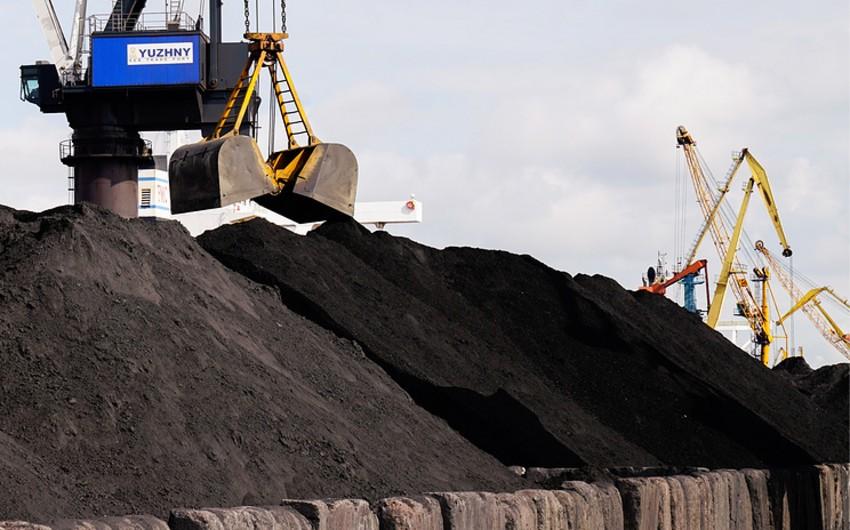 В Украину прибыла первая партия американского угля
