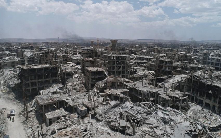 Hələb şəhəri atəşə tutulub, bir uşaq ölüb, səkkizi yaralanıb