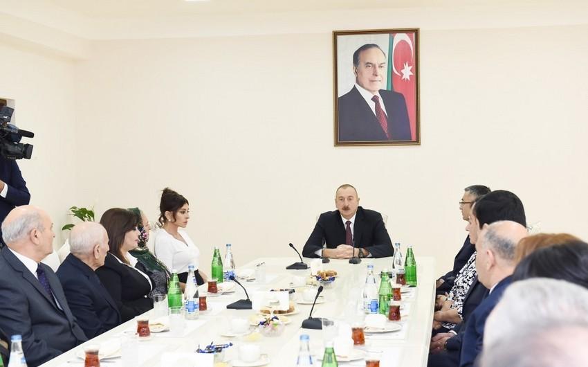Prezident İlham Əliyev: Gələn il Qarabağ münaqişəsinin həlli üçün önəmli il ola bilər