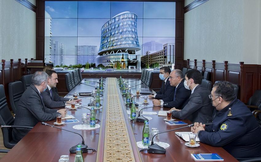 Dövlət Gömrük Komitəsinin sədri BP şirkətinin vitse-prezidenti ilə görüşüb