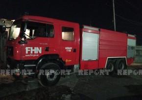 В Баку вспыхнул пожар в доме, есть пострадавшие