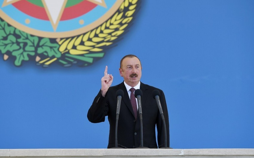 Ильхам Алиев: Мы живем за свой счет, и ниоткуда не получаем помощи