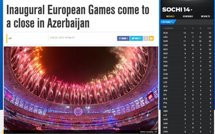 Fox Sports: Azərbaycan Avropa Oyunlarını keçirməklə dünya arenasında iz qoymağa nail oldu