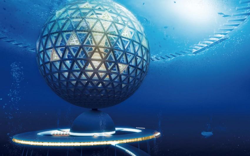 Yaponiya şirkəti Ocean Spiral adlı sualtı şəhər layihəsini təqdim edib