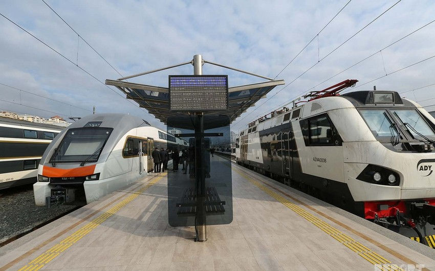 New double-decker trains delivered to Baku