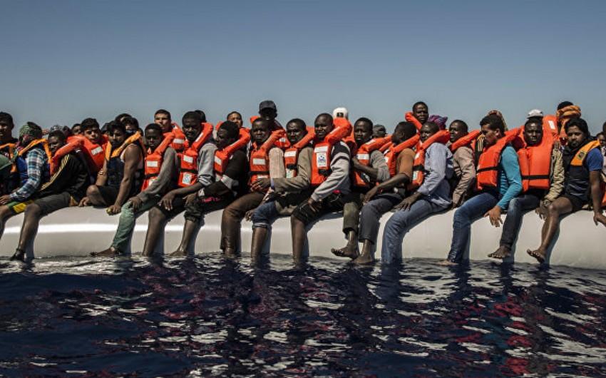 Sutka ərzində Aralıq dənizində 2300 miqrant xilas edilib