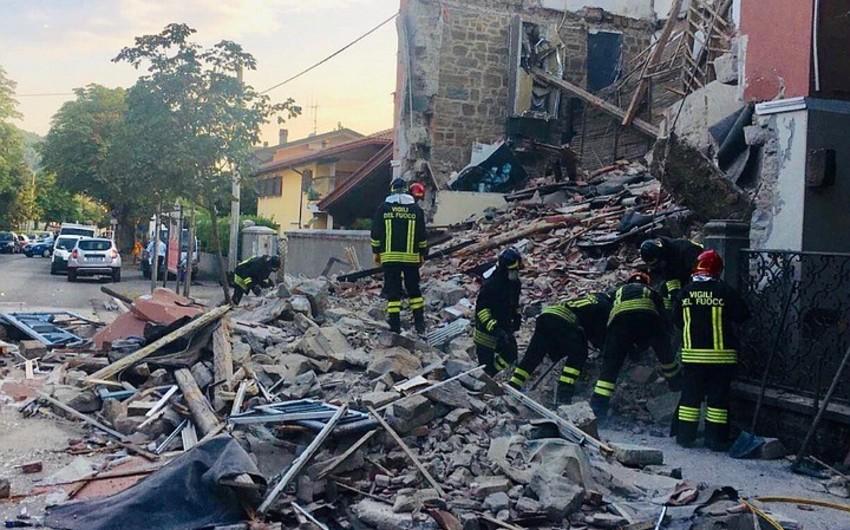 İtaliyada bina çöküb, ölənlər var - YENİLƏNİB
