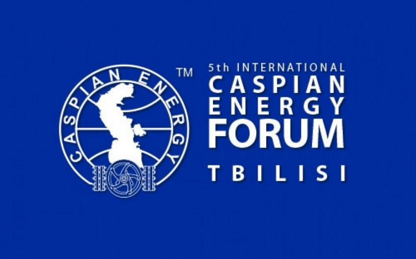 Caspian Energy Forum Tbilisi 2018in vaxtı dəyişdirilib