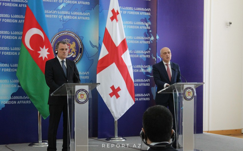 Ceyhun Bayramov: Gürcüstan XİN-də əla fikir mübadiləsi etdim