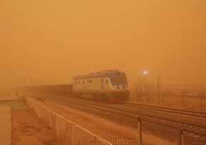 S. Korea blanketed by powerful dust storm