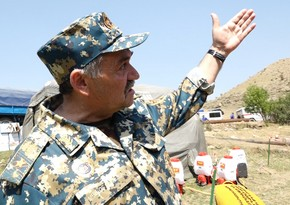 Armenian general who killed peaceful Azerbaijanis in Karabakh dies