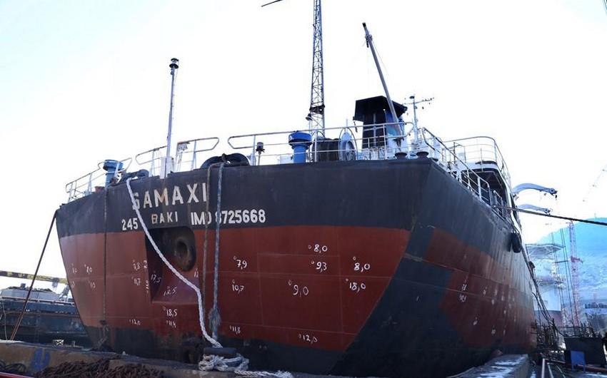 """""""Şamaxı"""" gəmisinin təyinatı dəyişdirilir"""