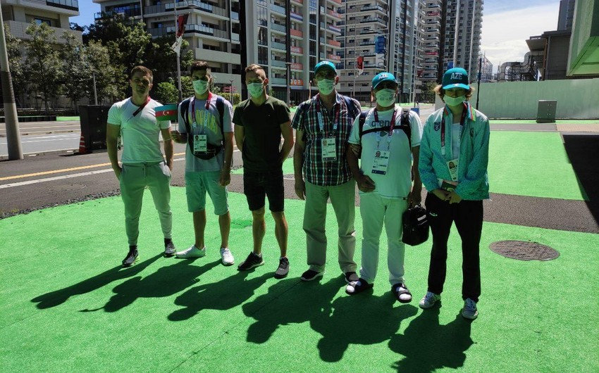 Azərbaycanın paralimpiya komandasının ilk heyəti atletlər kəndinə daxil olub