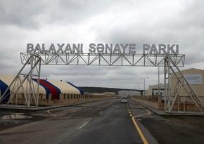 Balaxanı Sənaye Parkına daha 4 milyon manat investisiya qoyulacaq