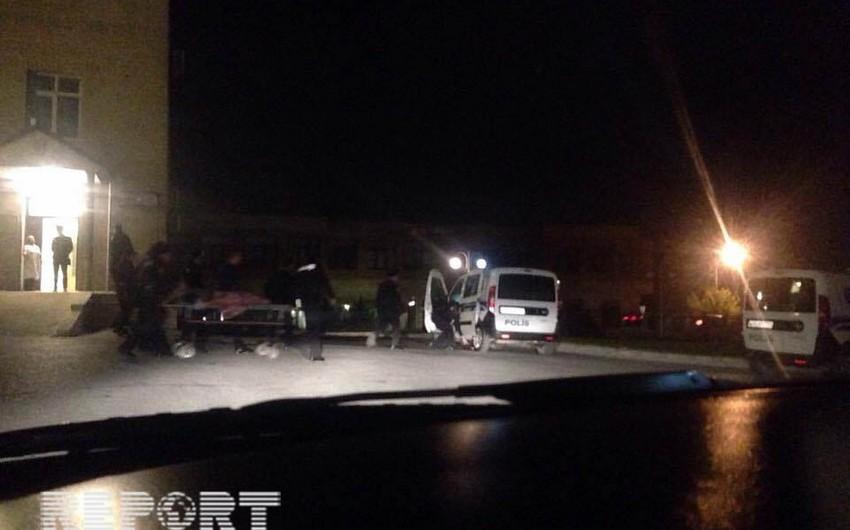 Bakıda polis xidmət zamanı bıçaqlanıb - FOTO - VİDEO - YENİLƏNİB