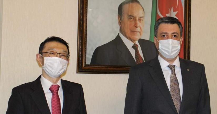 Azərbaycan və Yaponiyanın Gürcüstanla əməkdaşlığının inkişafı müzakirə olunub