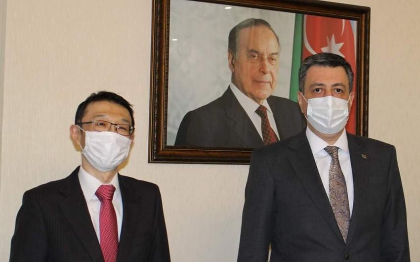 Azerbaijani, Japanese envoys discuss co-op in Georgia