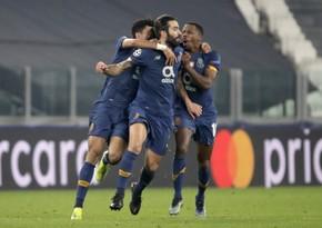 Ювентус поздравил Порту с выходом в четвертьфинал Лиги чемпионов