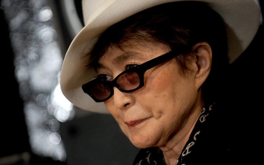 Yoko Ono Nyu-Yorkda xəstəxanalıq olub