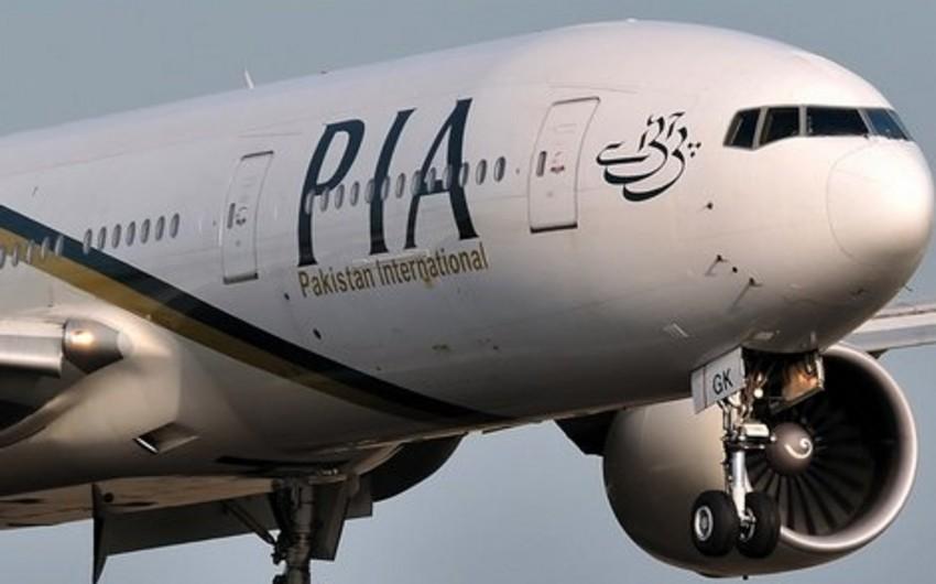 Pakistan Hava Yolları bütün istiqamətlərə uçuşları dayandırıb