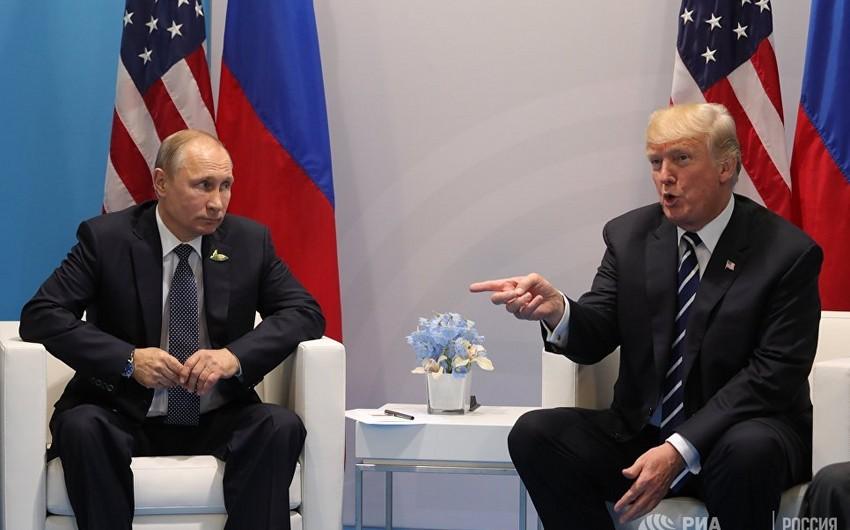 ABŞ dövlət katibi prezidentlər Tramp və Putinin görüşünün şərtlərini açıqlayıb
