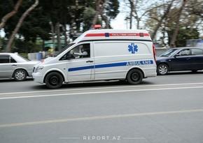 В Баку автомобиль сбил пожилую женщину