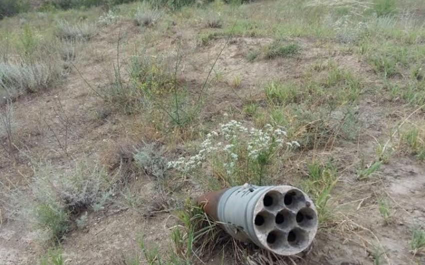 Ağstafada Qrad raketi aşkarlanıb